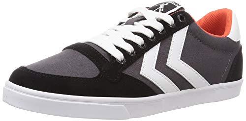 hummel Unisex-Erwachsene Slimmer Stadil Low Sneaker, Black,41 EU