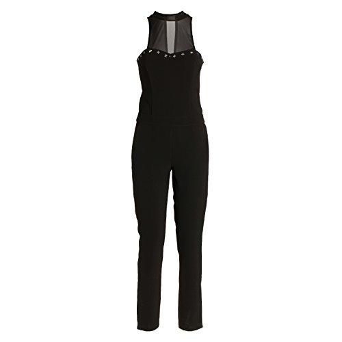 Guess Libera Overall Mono Elegante Largo, Negro (Noir/Jet Black A996), (Tallas De Fabricante:27) para Mujer