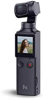FIMI Palm Handheld 3 Axis Gimbal Stabilizer with Integrated Camera, Attachable to Smartphone, Android (USB-C), iPhone