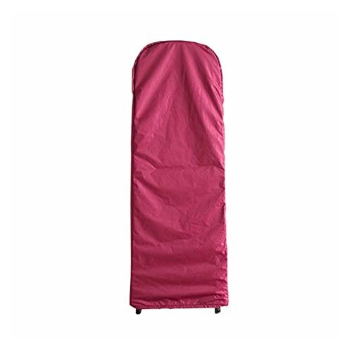 AGLZWY Copertura della Scala Pieghevole, Custodia Protettiva per Scala, con Coulisse Impermeabile Antipolvere Traspirante per Scale a Pioli, 4 Colori (Color : Red, Size : 50x174x6.5cm)