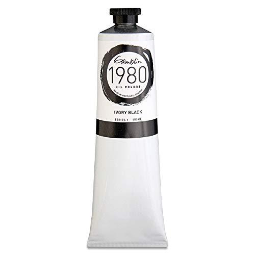 Gamblin 1980 Oil Ivory Black 150Ml