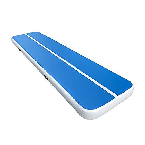 LYJ Gymnastikmatte Gymnastikmatte Trampolin Outdoor turnmatte airtrack Matte aufblasbar (Color : A, Size : 300 * 100 * 10CM)