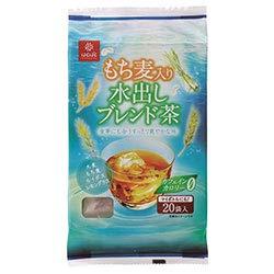はくばく もち麦入り水出しブレンド茶 160g(8g×20袋)×10袋入×(2ケース)