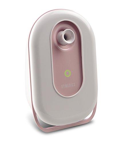 HoMedics Fresh Face Ionen Gesichtssauna, Effektive Gesichtsreinigung, Tiefenreinigung, Feuchtigkeitsspendent, Öffnet die Poren, One-Button, 45 Grad verstellbare Düse