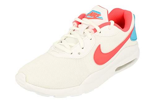 Nike Womens Air Max Oketo ES1 Running Trainers CD5448 Sneakers Shoes (UK 3 US 5.5 EU 36, White Flash Crimson Blue Fury 103)