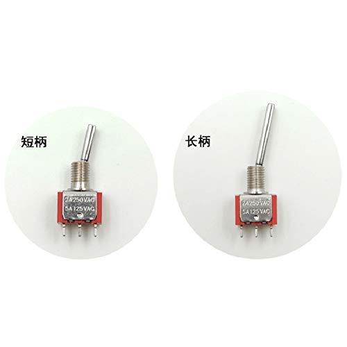 WANGYOUCAO Interruptor de Control Remoto del transmisor RC para At9 At9S At10Ii T8Fb Devo10 Devo7 At9 Wfly9 - (Color: Long 3) (Color : Short 2)