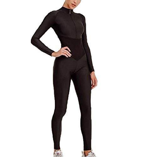 Mujeres Slim Sport Yoga Manga Larga Fitness Monos Gimnasio Ejecución Body Traje...