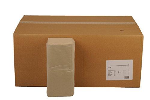 Funny Papierhandtuch, 1-lagig, ZZ/V Falz, 25x23 cm, grau, 1er Pack (1 x 6 Stück)