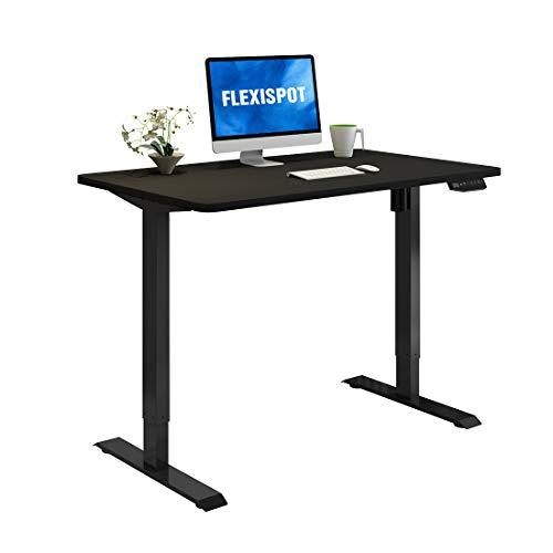 Flexispot E1 Elektrisch Höhenverstellbarer Schreibtisch mit Tischplatte 2-Fach-Teleskop, mit Memory-Steuerung