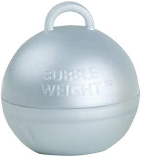 Bubble Weight Balloon Weight, 35g, Metallic Silver, 10 Piece