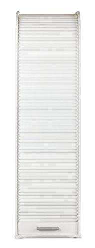 Rolloschrank Rollladenschrank Jalousienschrank | Dekor | Weiß | 3 Böden