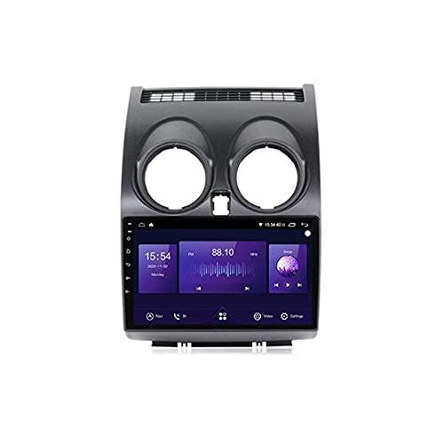 Android 10.0 coche estéreo 2 Din Radio Sat Nav para Qashqai J10 2006-2013 navegación GPS 9'' pantalla táctil MP5 reproductor multimedia receptor de video con 4G/5G WiFi Carplay