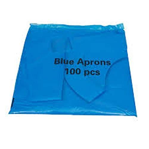 Pacco 100 Grembiuli Blu Usa e getta