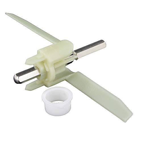 Mitnehmer 155mm passend für Bosch MUM5 MUMS MUMV MUZ5 wie 00630760 Durchlaufschnitzlerflügel für Küchenmaschine