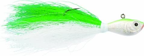 Spro Manufacturer direct delivery Selling SBTJC-1 4 Prime Bucktail 4-Ounce Jig Chartreuse 1