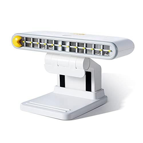 Morninganswer Ventola con Clip su Schermo del Computer Ricaricabile Ventola da Tavolo USB a 3 velocità con Supporto per Telefono per l'home Office