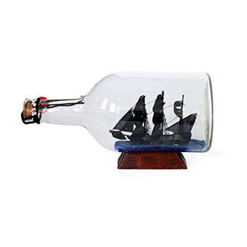 Kw-tool Maqueta de Barco, Herramientas de construcción Maqueta de Barco Maqueta de Barco Modelo ensamblado Modelo de navegación clásica Perla Negra en la Botella