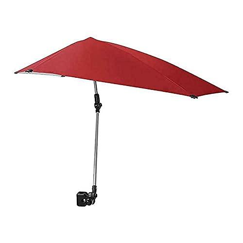 Amugo Parasol inclinable para jardín, playa, patio, 40 × 42 pulgadas (B)