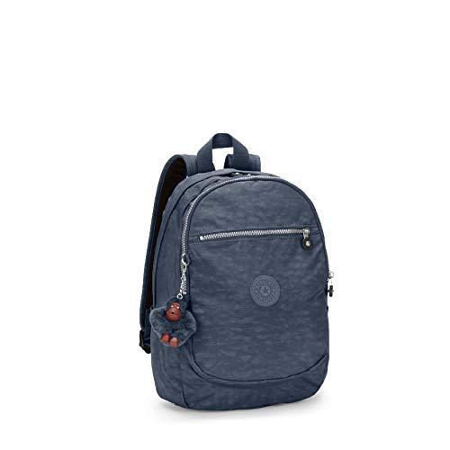 Kipling Damen CLAS Challenger Rucksack, True Blue, 26x36x21 cm