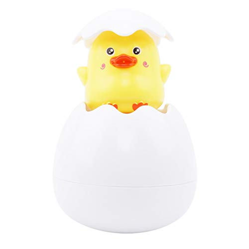 Toporchid Baby Badespielzeug Ente Pinguin Ei Wasserspray Sprinkler Badezimmer Dusche Schwimmen Wasserspielzeug (Stil 1)