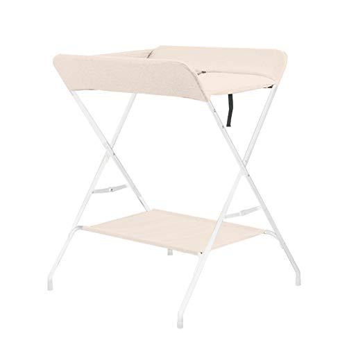 Wikkeltafel opvouwbaar, wasrek, geschikt voor 0-3 jaar oude baby's, veilig, milieuvriendelijk, comfortabel en comfortabel