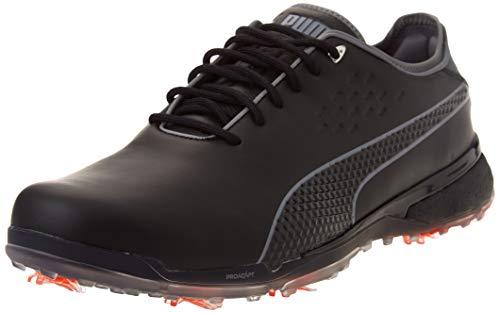 Puma 193849, Zapatos de Golf Hombre, Black Quiet Shade, 44 EU