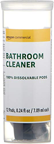 AmazonCommercial Dissolvable Bathroom Cleaner Kit with 3 Refill Pacs