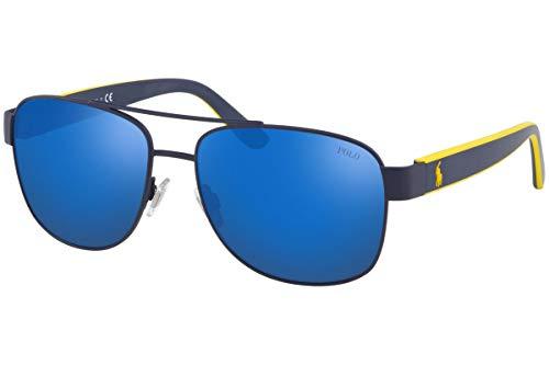 Ralph Lauren POLO 0PH3122 Gafas de sol, Matte Blue, 59 para Hombre