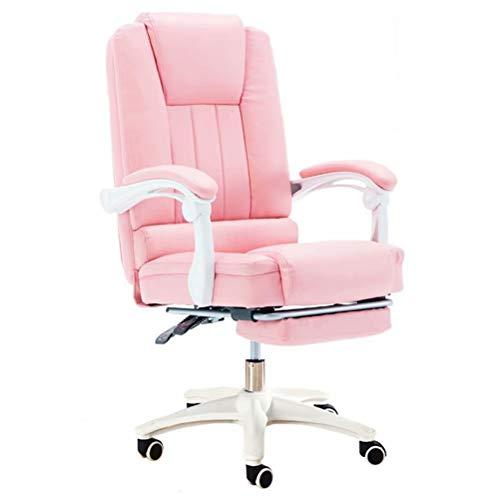 Klassieke zwart-witte bureaustoel, Silent rolschaats racestoel