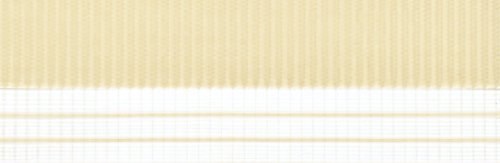 Doppelrollo mit Blende – Doppel Rollo – Kettenzug - 120 cm (Breite) x 180 cm (Länge) in Beige