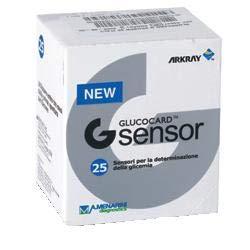 GLUCOCARD G SENSOR - 100 Tiras Reactivos Test de Glucemia - GSENSOR