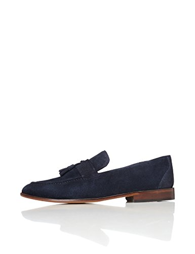 find. Andrews, Herren Loafers, Blau (Navy), 44 EU (10 UK)