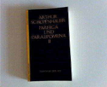 Parerga und Paralipomena II Arthur Schopenhauers Werk in 5 Bden. Bd. V