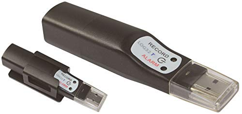TFA Dostmann Log32 T Datenlogger für Temperatur, 31.1055, Speicher für 60.000 Datensätze