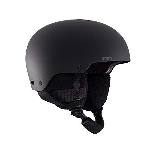 Anon Men's Raider 3 Asian Fit Helmet, Black, Large