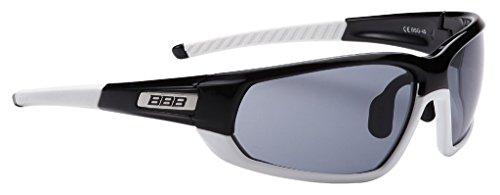 BBB Sonnen und n Adapt BSG-45 - Gafas de Ciclismo, Color Negro/Blanco