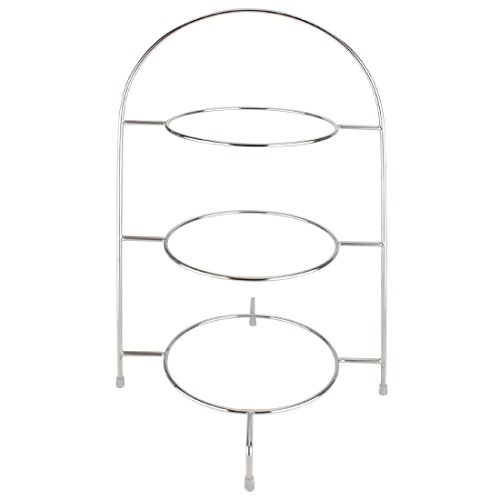Olympia Plate Stand Holder Food Display 3 Tier Plates Up To 10 1/2' 490mm Height
