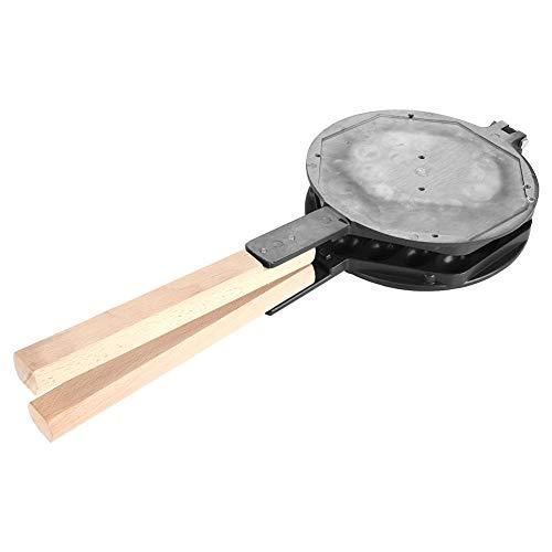 Waffle Maker antiadherente Huevo Waffle Pan Molde de hierro de doble cara para uso comercial doméstico