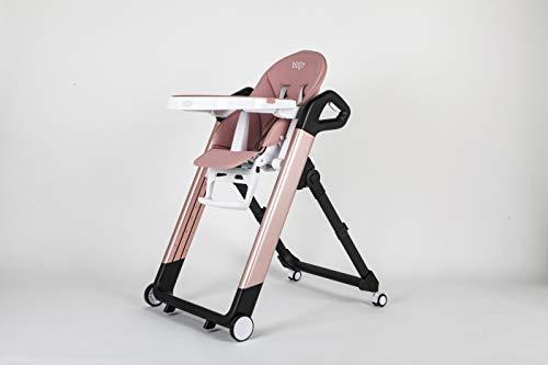 Blij'r Tonie kinderstoel Roze kinderstoel 6 maanden tot 4 jaar 8 posities