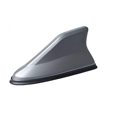 N\A Antena de Coche aéreo Reemplazo de la señal de FM del Amplificador Universal Lateral Auto azotea del Coche Decoración Radio de Coche Antenas de Aleta de tiburón Antena 1Pc (Color : Gray)