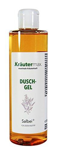 Kräutermax Salbei Duschgel 1 x 250 ml für trockene Haut