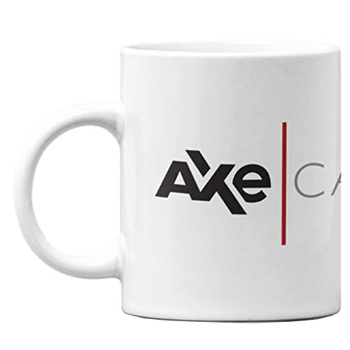 Billions Axe Capital Logo Showtime TV Series Merchandise Quote Wall Double Sided Ceramic Coffee Mug Tea Cup Fun Novelty Gift 12 oz