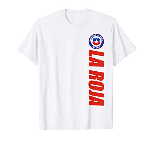 Republica de Chile Camiseta La Roja Chileno Futbol Chilean Camiseta
