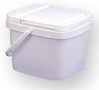Best 3 gallon square bucket with lid Reviews