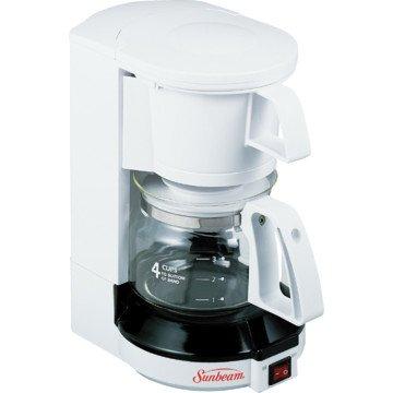Sunbeam 4-cup Coffeemaker - White