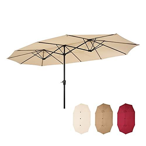 paritariny Patio-Regenschirm, 2.7x4.5m...