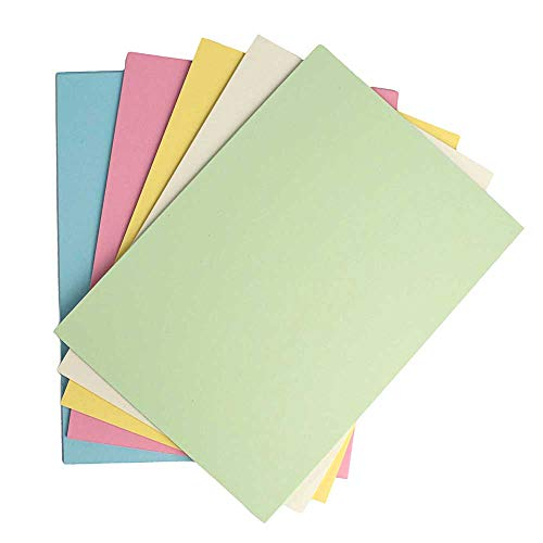 House of Card & Paper A3 220 gsm Card - Assorted Pastel Shades (Pack of 50 Sheets)