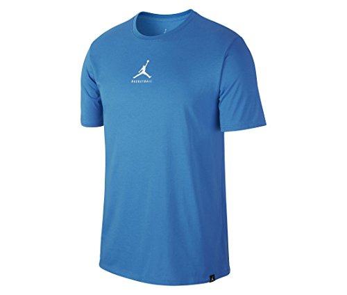 NIKE M JBSK DF 23/7 JMPMN Camiseta de Baloncesto, Hombre, Azul (lt Photo Blue), XL