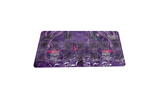 N\A Yugioh Zombie World Trading Card Game Playmat Master Rule 4 Link Zone Playmat - Alfombrilla para Juegos Alfombrilla para Juegos de Mesa TCG OCG Mat