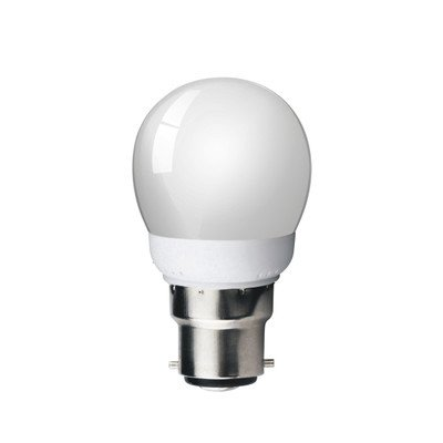 Kosnic KCF07GLF/B22-827 Ampoule Fluo-compacte Verre, Blanc Chaud